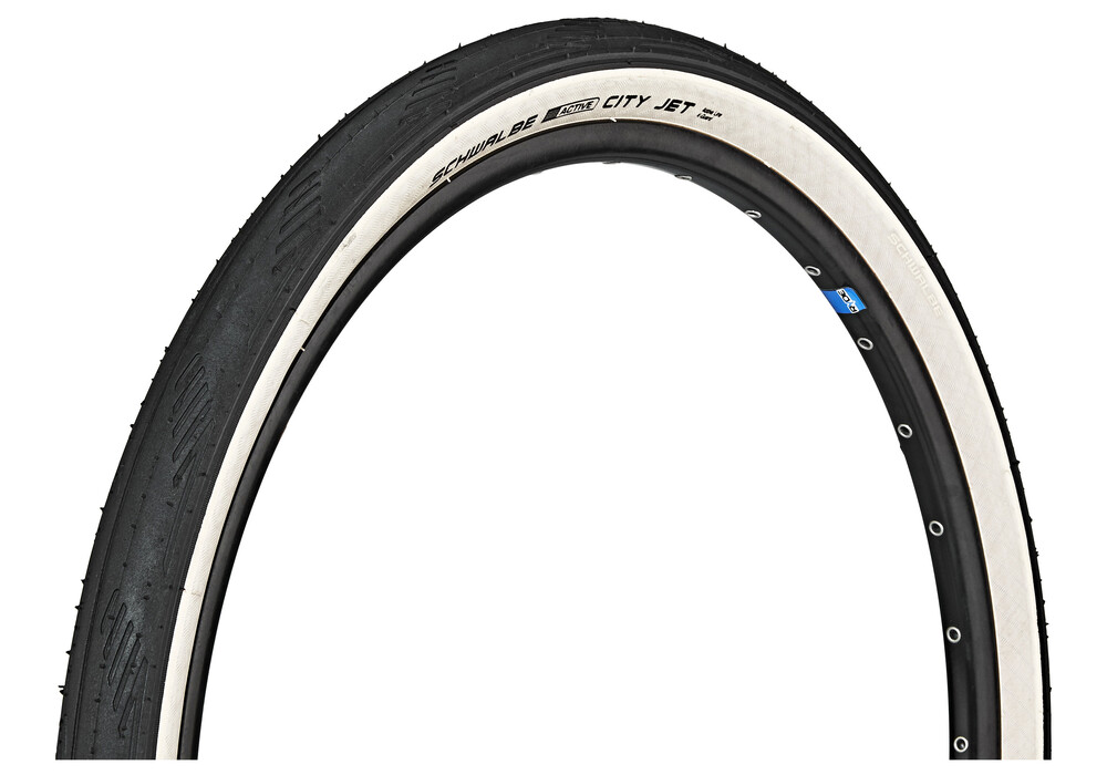 SCHWALBE City Jet Bike Tire 26, wire bead black at Bikester.co.uk